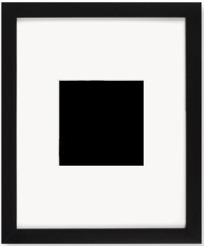 """Print Size = 4x4"""" (10x10cm) {1:1} --- Frame Size =  8x10"""" (20x25cm) {4:5}"""