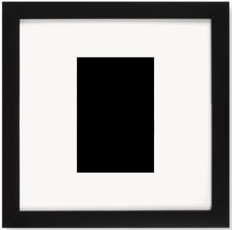 """Print Size = 4x6"""" (10x15cm) {2:3} --- Frame Size =  10x10"""" (25x25cm) {1:1}"""