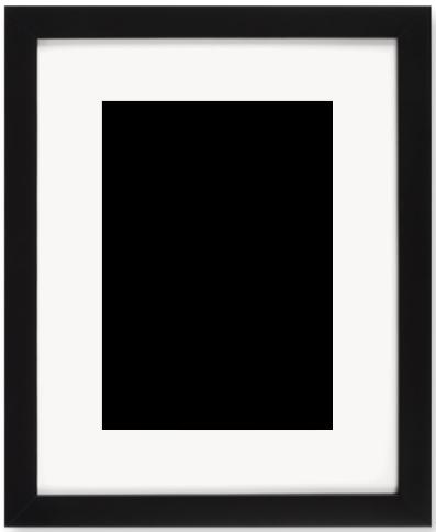 """Print Size = 7x10"""" (18x25cm) {3:4} --- Frame Size =  11x14"""" (28x36cm) {4:5}"""