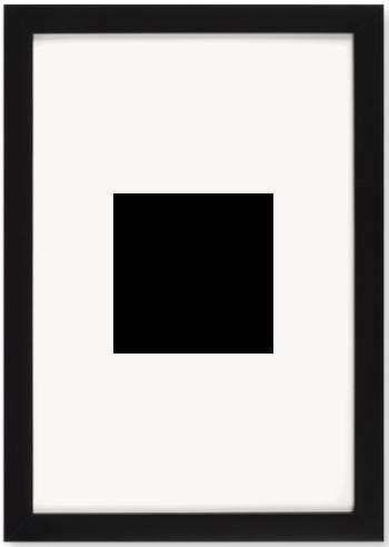 """Print Size = 6x6"""" (15x15cm) {1:1} --- Frame Size =  12x18"""" (30x45cm) {4:5}"""