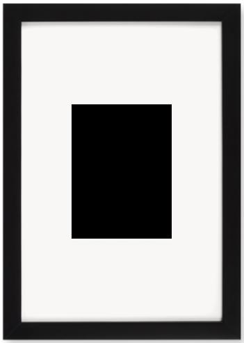 """Print Size = 6x8"""" (15x20cm) {3:4} --- Frame Size =  12x18"""" (30x45cm) {2:3}"""