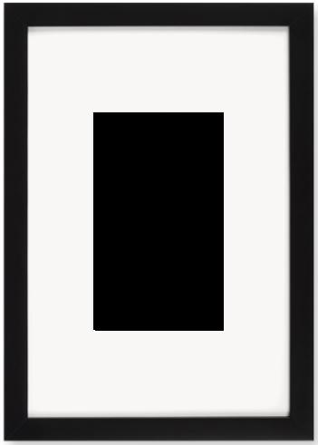 """Print Size = 6x10"""" (15x25cm) {2:3} --- Frame Size =  12x18"""" (30x45cm) {2:3}"""