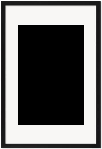 """Print Size = 10x16"""" (25x41cm) {2:3} --- Frame Size =  16x24"""" (40x60cm) {2:3}"""