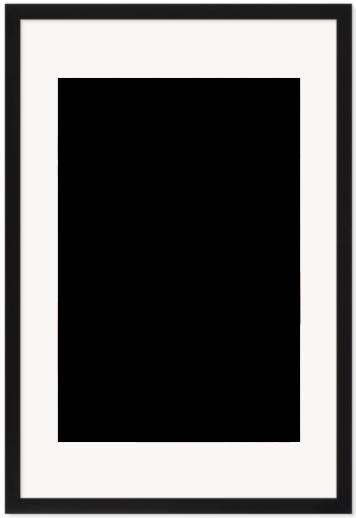 """Print Size = 12x18"""" (30x45cm) {2:3} --- Frame Size =  16x24"""" (40x60cm) {2:3}"""