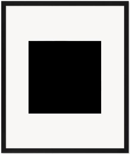 """Print Size = 12x12"""" (30x30cm) {1:1} --- Frame Size =  20x25"""" (50x60cm) {4:5}"""