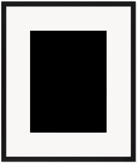 """Print Size = 12x16"""" (30x40cm) {3:4} --- Frame Size =  20x24"""" (50x60cm) {4:5}"""
