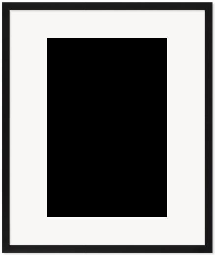 """Print Size = 12x18"""" (30x45cm) {2:3} --- Frame Size =  20x24"""" (50x60cm) {4:5}"""