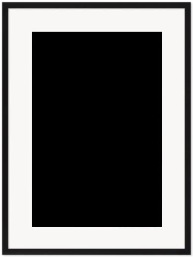 """Print Size = 16x24"""" (40x60cm) {2:3} --- Frame Size =  22x30"""" (55x76cm) {2:3}"""
