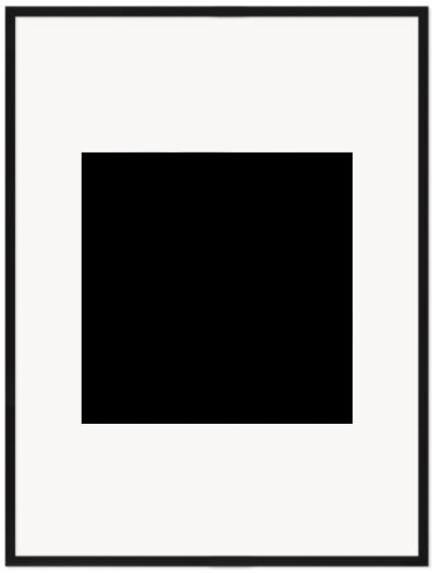 """Print Size = 20x20"""" (50x50cm) {1:1} --- Frame Size =  30x40"""" (76x102cm) {3:4}"""