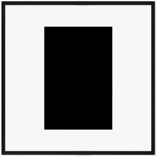 """Print Size = 14x21"""" (35x53cm) {2:3} --- Frame Size =  30x30"""" (76x76cm) {1:1}"""