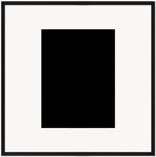 """Print Size = 15x20"""" (38x50cm) {3:4} --- Frame Size =  30x30"""" (76x76cm) {1:1}"""