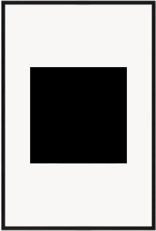 """Print Size = 26x26"""" (66x66cm) {1:1} --- Frame Size =  40x60"""" (102x152cm) {2:3}"""